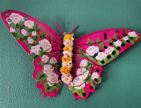 Handmade Butterfly Decorations - 1000 ideas about butterfly wall decor on