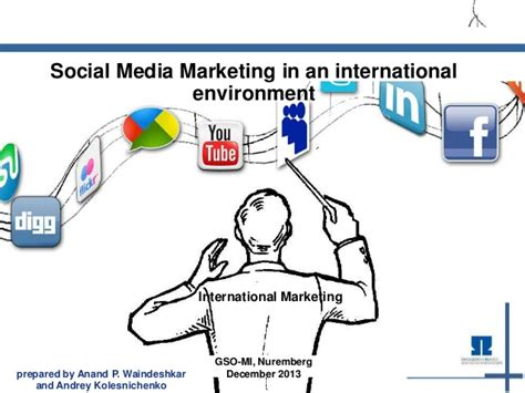 In Media For Mba Marketing by Social Media Marketing Mba Project International Marketing