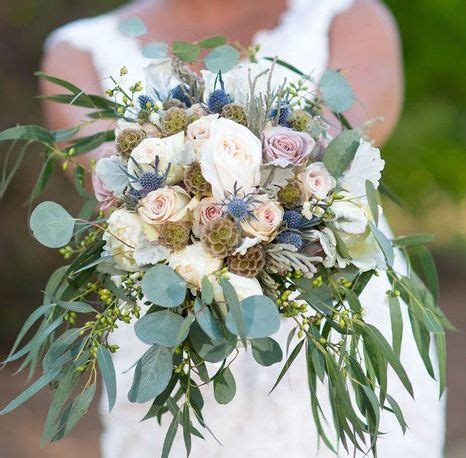rustic wedding flower styles