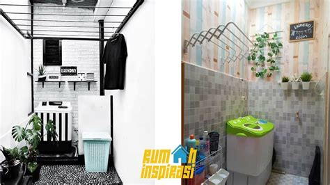 desain dapur dan ruang cuci desain inspirasi tempat cuci dan jemuran baju youtube