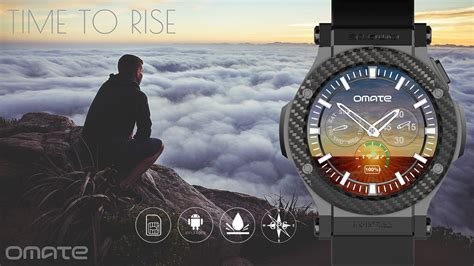 Omate Smartwatch omate rise is a circular android 3g smartwatch for just 200