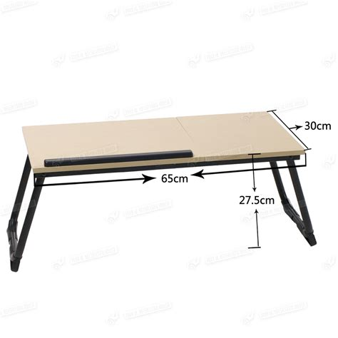 bed desk tray portable folding stand laptop desk wooden lap bed tray computer notebook table