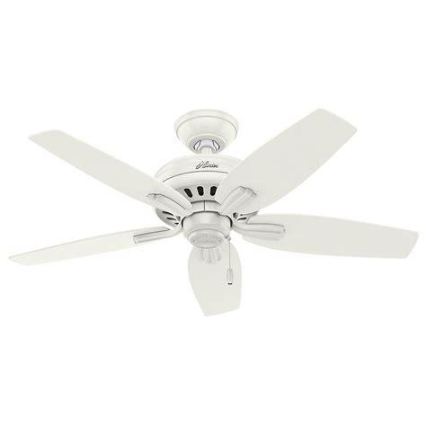 hunter 3 light kit hunter newsome 42 in indoor fresh white ceiling fan with