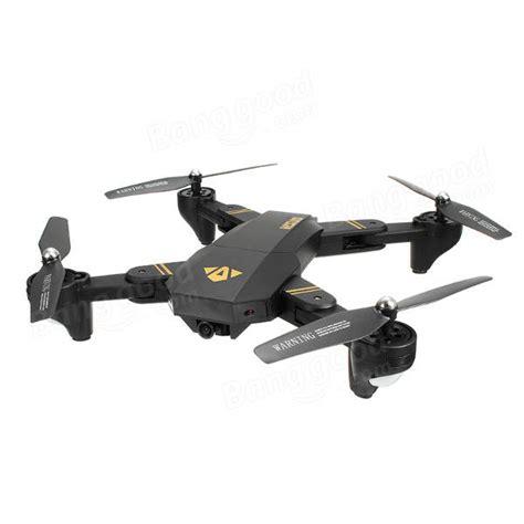 Murah Ori Drone Visuo Xs809hw 3 Battery Wifi Fpv 2mp visuo xs809hw 2 4g 4ch 6 axis wifi w foldable arm fpv rc quadcopter rtf 11street