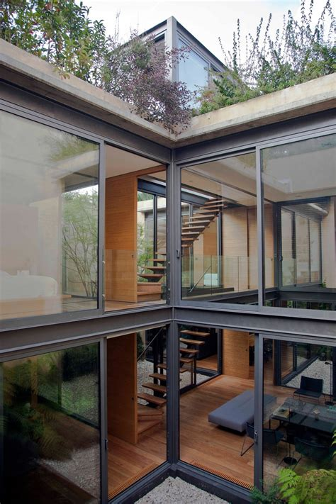 houses with courtyards a house with 4 courtyards includes floor plans