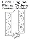 Ford 302 Firing Order Ford Engine Firing Order Pictures To Pin On
