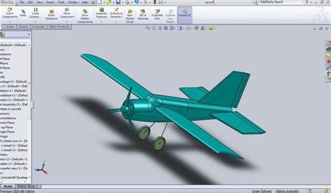 solidworks tutorial aircraft aircraft solidworks 3d cad model grabcad