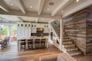 Detached Garage With Loft transforming a 1950 bungalow to a luxurious beach cottage