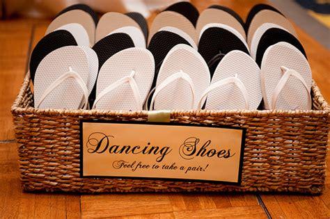 wedding box of flip flops wedding bathroom baskets flip flop baskets the quot i do