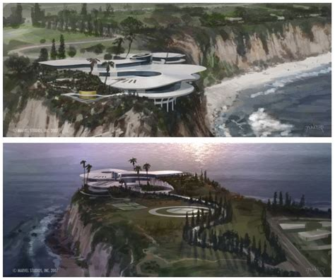 Tony Stark Home | stark modernism tony stark s malibu home from iron man