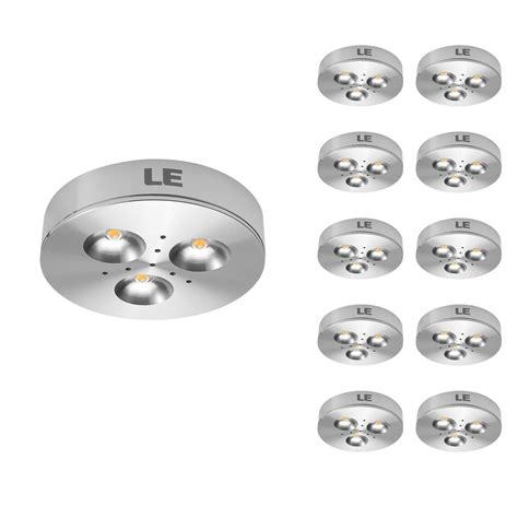 under led puck lights pack of 10 units led under lighting kitchen