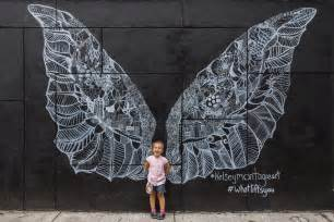 Gothic Wall Murals quot angel wings quot mural by kelsey montague andriy prokopenko