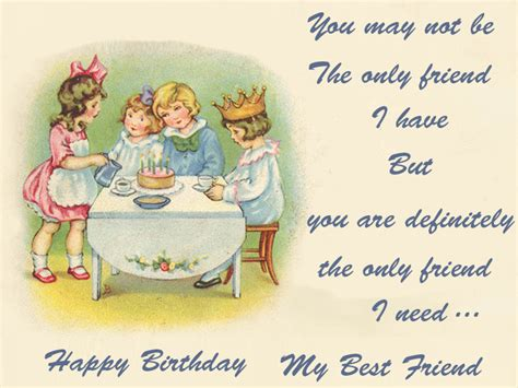 Birthday Card Greetings For Best Friend Happy Birthday Cards For Best Friend Birthday Wishes E