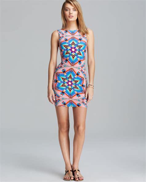 Cut Out Back Swim Dress lyst mara hoffman kites modal cutout back mini dress