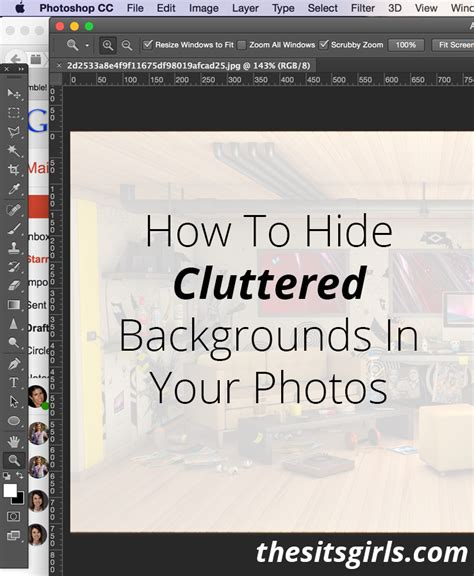 Hide Cluttered Backgrounds In Your Photos | hide cluttered backgrounds in your photos