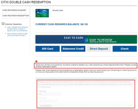 Bank Letter For Direct Deposit Citibank Citi Earning Structure And Back Redemption Offers