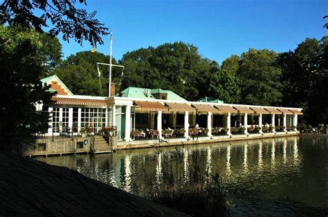 Panoramio Photo Of Central Park Boathouse Restaurant