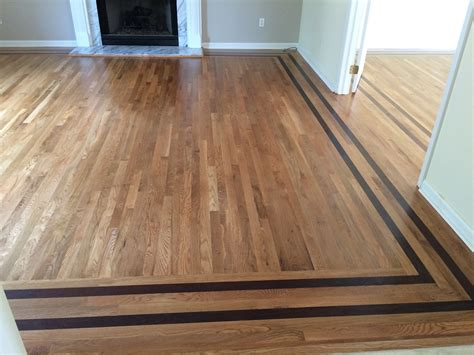 Hardwood Floor Designs Wood Floor Border Inlay Wc Floors Hardwood Floor Designs Pinterest Woods Floor Design
