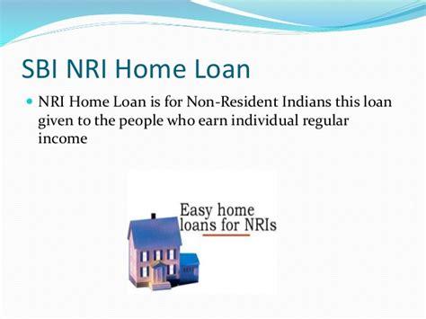 sbi nri housing loan state bank of india home loan
