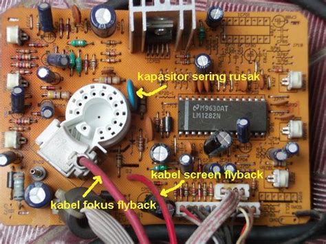 kapasitor bocor kapasitor bocor 28 images masalah benq fp92w lcd monitor susah on sri aman computer repair