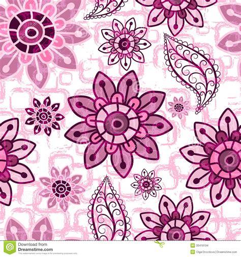 flower pattern vintage pink floral pink grunge seamless pattern stock images image