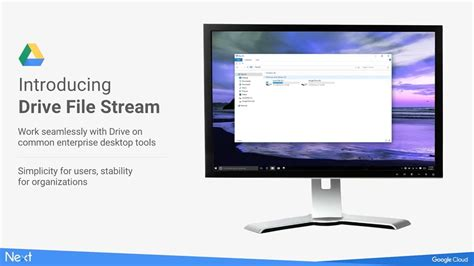 drive file stream is not enabled for the account google drive file stream first look youtube
