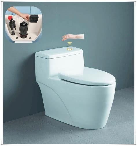 Buy Bidet Toilet Water Saving Touchless Microwave Sensor Flushing Kit Bidet