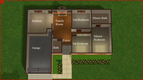 sims 2 house floor plans sims 2 lot downloads december 2011