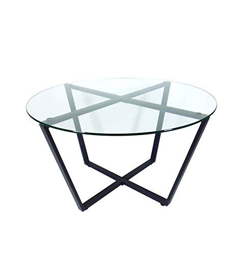 clear base table l mango steam metro glass coffee table clear top black
