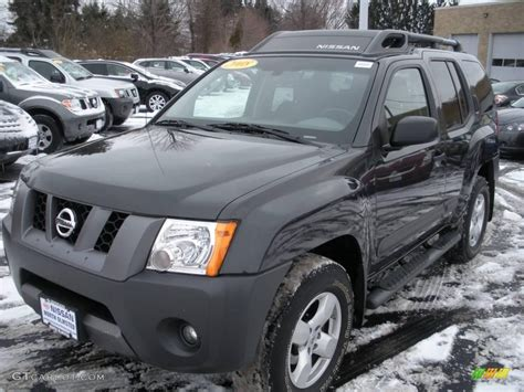 grey nissan xterra 2008 night armor dark gray nissan xterra se 4x4 24198297