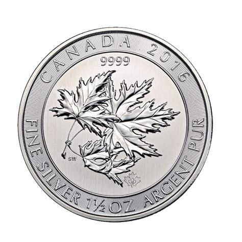 1 oz 2016 canadian maple leaf silver coin buy 2016 silver canadian maple leaf 1 5 oz superleaf coin