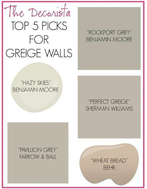 quot greige quot paint colors used wheat bread and how it turned out design