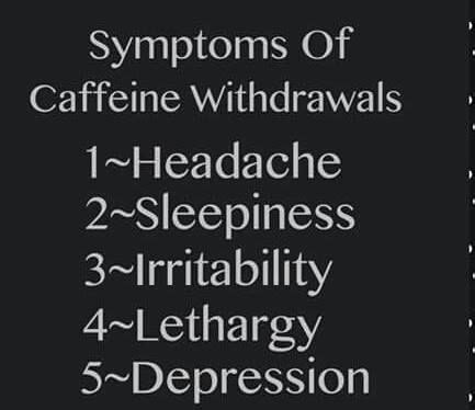 Symptoms Of Detoxing From Caffeine by 8 Best Images About Withdrawls On Feelings