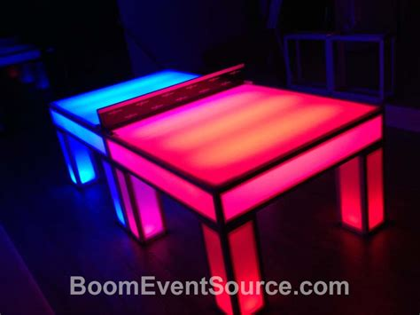 light up ping pong table ping pong table lighting lighting ideas