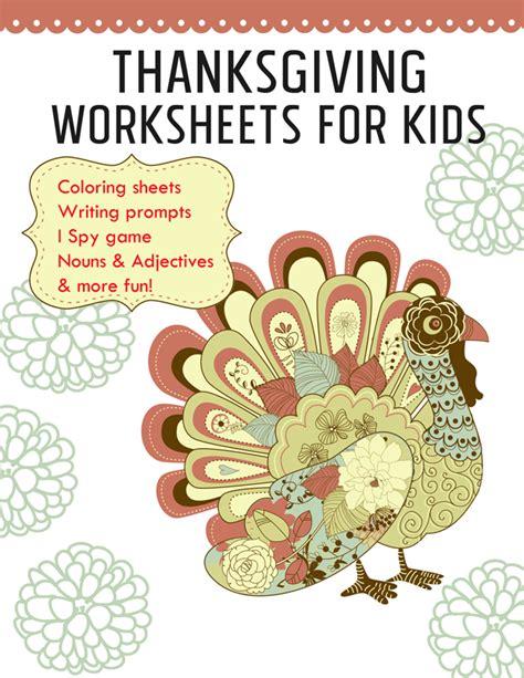 Thanksgiving Worksheets Printable