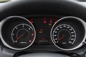 Mitsubishi Dashboard Warning Lights Mitsubishi Asx Comes With Safety Technology For A Of