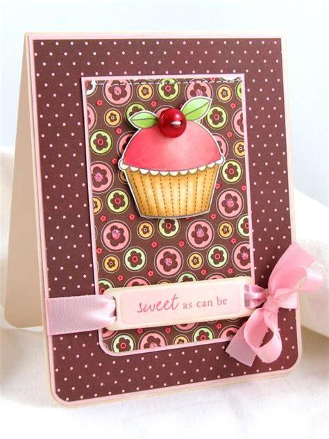 Handmade Cupcake Cards - handmade cupcake card hgtv