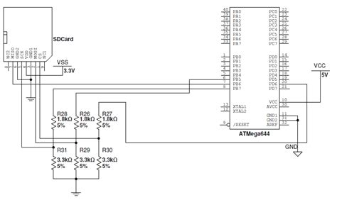 avr pin diagram atmega32 and sd card avr freaks