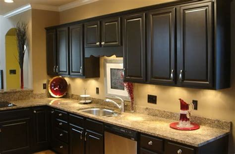 Pics Of Kitchens With Black Cabinets Black Kitchen Cabinets Fabulously Finished