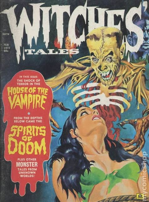 witches bewitching bedlam volume 4 books witches tales 1972 magazine vol 4 comic books
