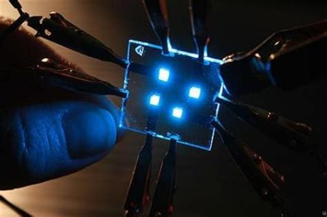 light emitting diode technology span of blue oleds gets extended by 25