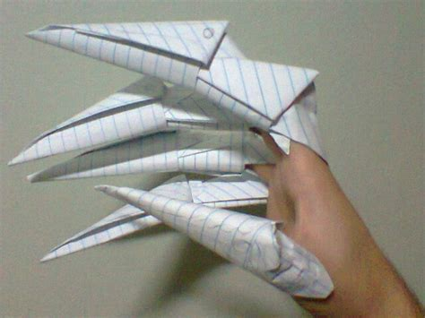 How To Fold A Paper Claw - origami claws by victorreissobreira on deviantart