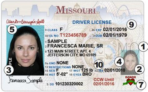 missouri s new driver s license bar club stats id