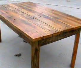 Recycled Benches Pallet Builds 2