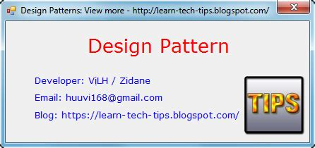 design pattern overview tutorial design patterns overview learn tech tips
