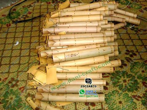 membuat undangan gulung undangan bambu unik undangan pernikahan unik harga murah