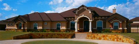 custom home design elevations central designs