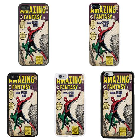 Softcase Iphone 5 5s Marvel Series dc marvel comic book cover for apple iphone 4 4s 5 5s