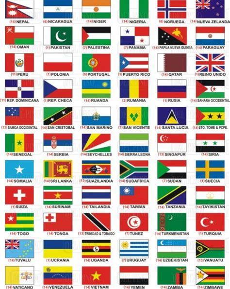 dibujos de banderas del mundo para imprimir imagenes de las banderas del mundo con nombre imagui