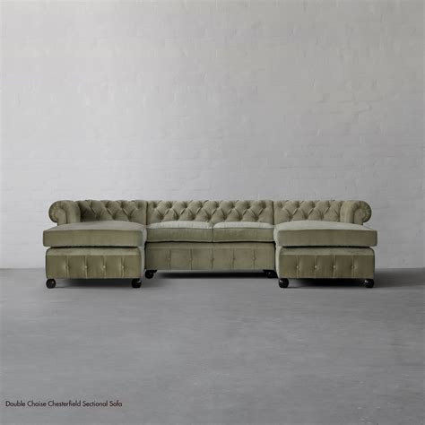 chesterfield sofa sectional chaise chesterfield sectional